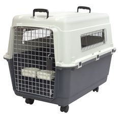SportPet Designs Plastic Kennels Rolling Plastic Wire Door Travel Dog Crate-XXL - Exactly what I was needing.This SportPet Designs that is ranked 57718 in the t Plastic Dog Kennels, Pet Kennels, Plastic Dog Crates, Dog Travel Crate, Pet Travel, Airline Travel, Airline Pet Carrier, Dog Carrier, Large Dog Crate