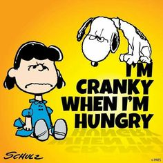 Cranky when hungry