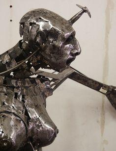 Individual Work | Stefan Blom 'Mary Earhart' detail