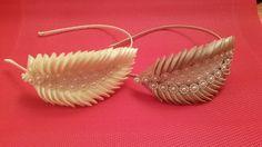 Ободок Канзаши к Вечернему Платью Kanzashi Headband ✔ Marine DIY✔