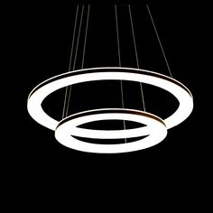 Buy Modern Simple Acrylic LED Circle Pendant Light 2-light with Lowest Price and Top Service!
