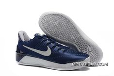 http://www.getadidas.com/kobe-xii-ad-navy-blue-white-topdeals.html KOBE XII A.D NAVY BLUE WHITE TOPDEALS Only $87.92 , Free Shipping!