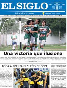 Diario El Siglo - Lunes 19 de Noviembre de 20 12