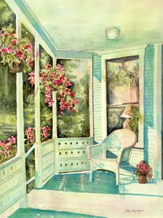 Kathleen Berry Bergeron   WATERCOLOR