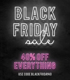 We're celebrating Black Friday with a new look, FREE shipping on all U.S. orders and 40% off sitewide! Just use BLACKFRIDAY40 at checkout. *Offer ends at 11:59 pm EST on 11/27/2015. Check it out: www.shoptheshoppingbag.com