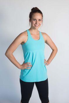 Art of Athletics - Women's Athletic Wear - Breathe Again Tank - Light Blue (http://www.aoaactivewear.com/breathe-again-tank-light-blue-1/)