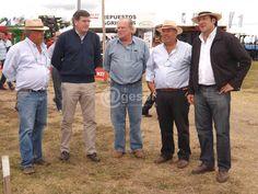 Expo Activa 2013, Soriano con los amigos de la Asoc Rural, Pelayo Amorin y Pepe Amy