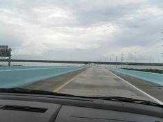 Voltando das Keys, na US1- Flórida.EUA.