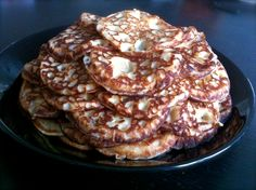 Spelttiletut Pancakes, Breakfast, Desserts, Food, Morning Coffee, Tailgate Desserts, Deserts, Eten, Postres