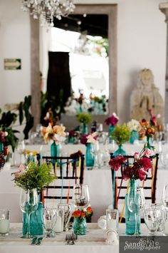 Mexican Wedding Decoration Ideas Fresh Vintage Inspired Coral and Turquoise Teal Wedding with Lace Turquoise Coral Weddings, Turquoise Centerpieces, Vintage Centerpieces, Wedding Centerpieces, Wedding Table, Fall Wedding, Our Wedding, Dream Wedding, Teal