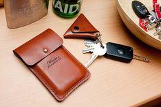 Handytasche Hülle Handytasche iPhone 5 von WonderandQuestion