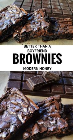 The BEST chocolate BROWNIES recipe out there. It's a rich, chewy brownies full of melted chocolate that will satisfy your chocolate cravings.
