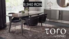 Lotus Dining, un interior discret si luxos, poate fi cumpărat direct din Showroom-ul #TORO Luxury, din Bd. Pipera 200A, la un pret special. Rezervari si comenzi: 0746 661 384   Preturi Lotus Dining: 1 masa + 6 scaune + 1 bufet + 1 oglinda 14.491 RON tva inclus (pret de showroom) Showroom, Lotus, Dining Table, Luxury, Interior, Furniture, Home Decor, Low Key, Indoor