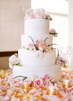 The Prettiest Pink Black-Tie Wedding