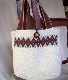 Upcycled Sweater Purse | sweater bag | Purses