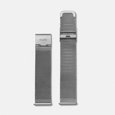 Strap 18 mm - Mesh Silver