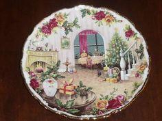 Royal Albert Christmas Magic Christmas at Home China Plate