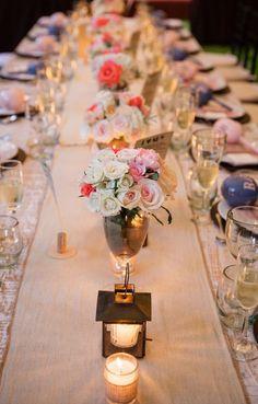 Wedding reception idea; Featured Photographer: Amaranth Photography