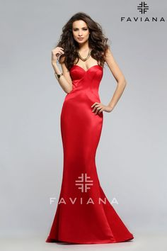 Shop Faviana designer prom dresses at PromGirl. Long formal dresses and gowns for proms and balls and short semi-formal homecoming party dresses. Faviana Dresses, Prom Dresses 2016, Designer Prom Dresses, Discount Bridesmaid Dresses, Unique Dresses, Formal Dresses, Glamorous Evening Dresses, Sweetheart Prom Dress, Queen