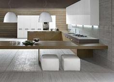 Cucina componibile su misura SEGNO Class Collezione Class by Comprex | design MARCONATO & ZAPPA ARCHITETTI ASSOCIATI