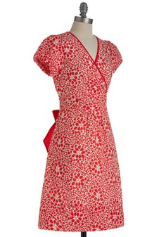 Scarlet's Do This Again Dress, #ModCloth