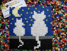 Pixel Art con Hama Beads (beta) | Descubre maravillas de Pixel Art, Sprites, creaciones 2D/3D hechas en Hama Beads | Página 10 Hama Beads Design, Diy Perler Beads, Pearler Beads, Fuse Beads, Pearler Bead Patterns, Perler Patterns, Sprites, Hama Beads Animals, Kawaii Cross Stitch