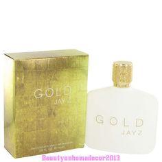 Gold Jay Z by Jay-Z 3 oz / 90 ml EDT Cologne Spray for Men New in Box #JayZ