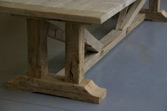malvini belgium: SALVAGED OAK LARGE DINING TABLE - 13 feet long dining table and longer.