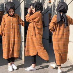Casual Hijab Outfit, Hijab Chic, Pakistani Fashion Casual, Muslim Fashion, Street Hijab Fashion, Fashion Outfits, Hijab Style Dress, Modele Hijab, Mode Abaya