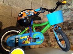 Vélo enfant de 2ans à 5ans avec casque