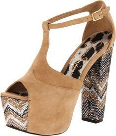 Amazon.com: Jessica Simpson Women's Dany Platform Sandal: Jessica Simpson: Shoes