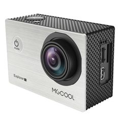 [$65.60] MGCOOL Explorer 1S 12MP 4K 170 Degrees Wide Angle WiFi Sport Action Camera Camcorder with 30m Waterproof Housing Case, 2.0 inch Screen NT96660 CPU Sony IMX 078 Sensor, Support 64GB Micro SD Card(Silver)
