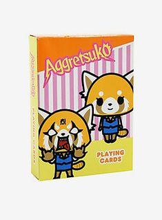 Aggretsuko Playing Cards,