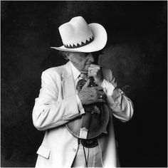 Photographer Jim McGuire, Nashville Portraits, Father of Bluegrass Bill Monroe
