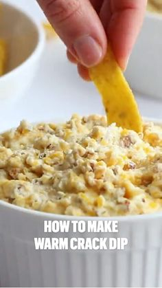 I Love Food, Good Food, Good Party Food, Yummy Food, Dip Recipes For Parties, Snacks For Party, Fresh Corn Recipes, Healthy Dip Recipes, Party Dips