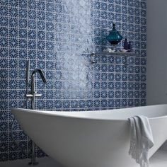 Morena - Glazed & Decorated - Shop by tile type - Wall & Floor Tiles | Fired Earth