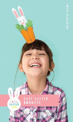 Easy Easter bonnets for kids made from recycled supplies Easter Dresses For Kids, Easter Crafts For Kids, Crafts To Do, Diy For Kids, Easter Ideas, Easter Hat Parade, Easter 2020, Easter Activities, Easter Bonnets