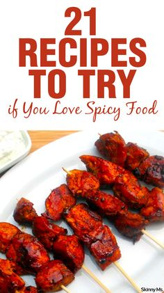 I am a spicy food addict! Can't wait to try these 21 Recipes to Try if You Love Spicy Food!