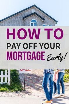 If you're looking to save thousands of dollars, then you need to think about paying off your mortgage early. These tips will help you pay off mortgage early Mortgage Companies, Mortgage Tips, Mortgage Rates, Mortgage Humor, Paying Off Mortgage Faster, Pay Off Mortgage Early, Mortgage Amortization Calculator, Mortgage Payment Calculator