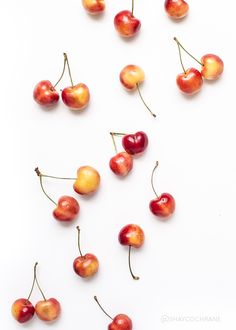 Shay Cochrane / In the shop: Summer Fruit Styled Stock images for food bloggers and creative businesses. Cherries