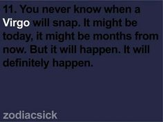 it will happen sooner or later