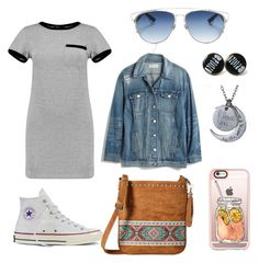 """""""Dress or Shirt?"""" by kenzie4ever11 on Polyvore featuring MARA, Converse, Madewell, M&F Western, Christian Dior, Casetify and shirtdress"""