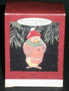 Hallmark Keepsake Christmas Ornament 1993 Owl Winnie The Pooh #QX5695 NEW/BOX by DiscountFigurines on Etsy