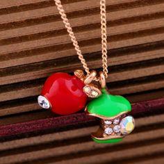 Apple Long Necklace