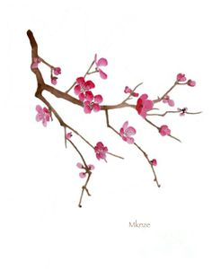 37 Best Cherry Blossom Painting Images Cherry Blossom Drawing