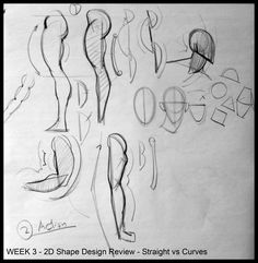 Analytical Figure Drawing SP08: Week 3 - Form and Overlaps