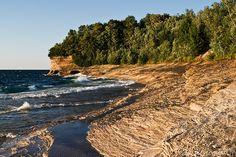 Mosquito Beach    Pictured Rocks National Lakeshore  Munising , Michigan