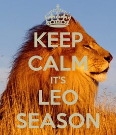leo season | KEEP CALM IT'S LEO SEASON