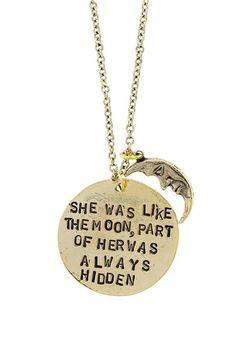 """""""Like The Moon"""" Necklace by Alisa Michelle on @HauteLook"""