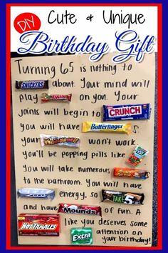 Cute Easy DIY Birthday Gift Idea